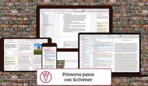 Primeros pasos en Scrivener