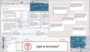 ¿Qué es Scrivener?