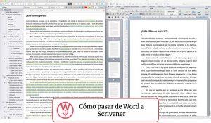 De Word a Scrivener: la guía completa
