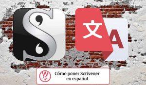 Cómo poner Scrivener en español