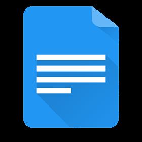 Programas para escribir google docs