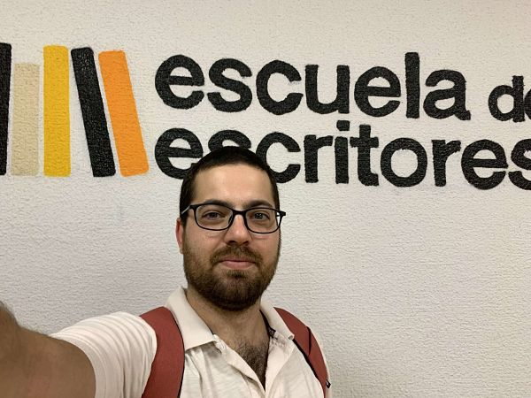 David Olier director de Scrivener en espanol en la escuela de escritores