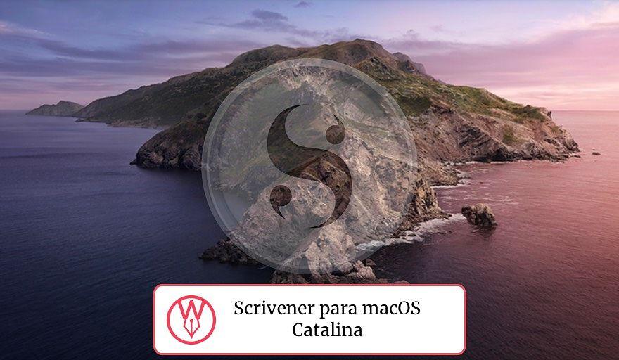 Scrivener para macOS Catalina