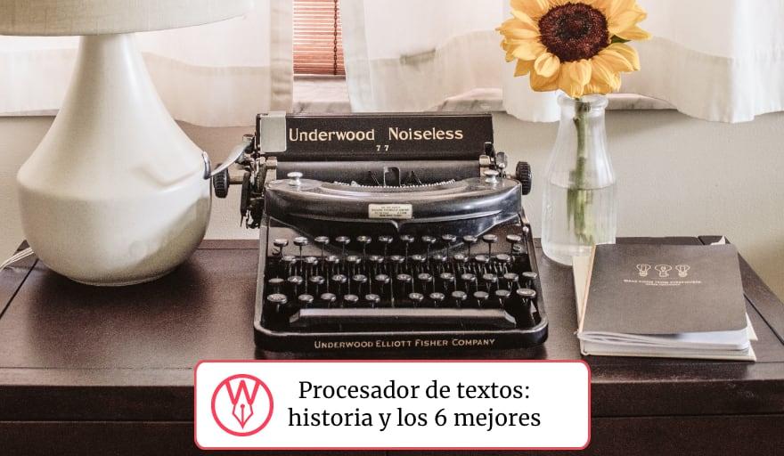 Los mejores procesadores de texto
