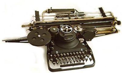 Primer procesador de textos mecanico varityper